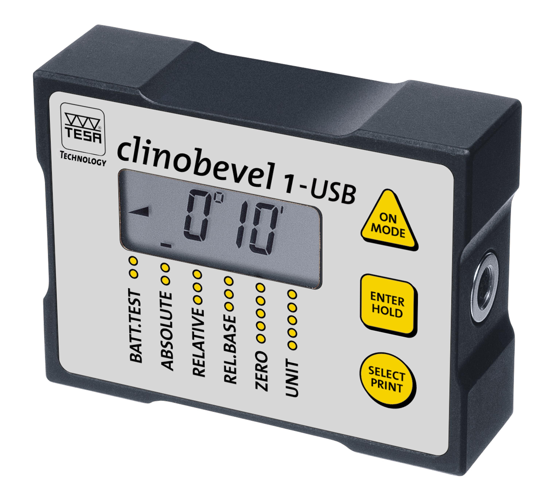 digital inclinometer clinobevel 1 usb rh tesatechnology com User Manual PDF Instruction Manual Book